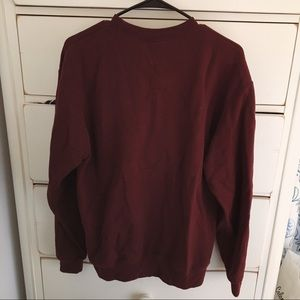 Champion Tops - University of Chicago Maroon Crewneck Sweatshirt